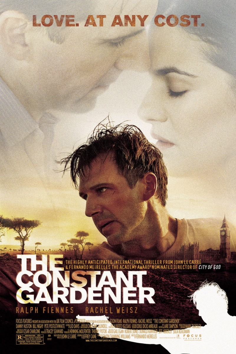 film analysis of the constant gardener Now the constant gardener has been released as a film, starring ralph fiennes  and rachel weisz and directed by fernando meirelles.